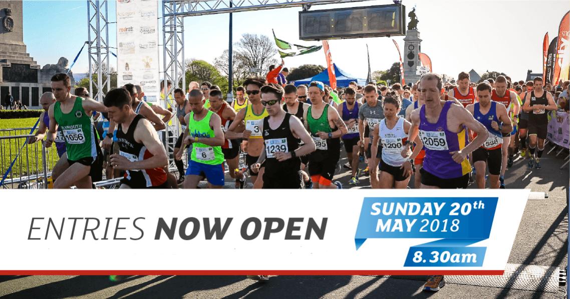 Plymouth Half Marathon - Entries now open!