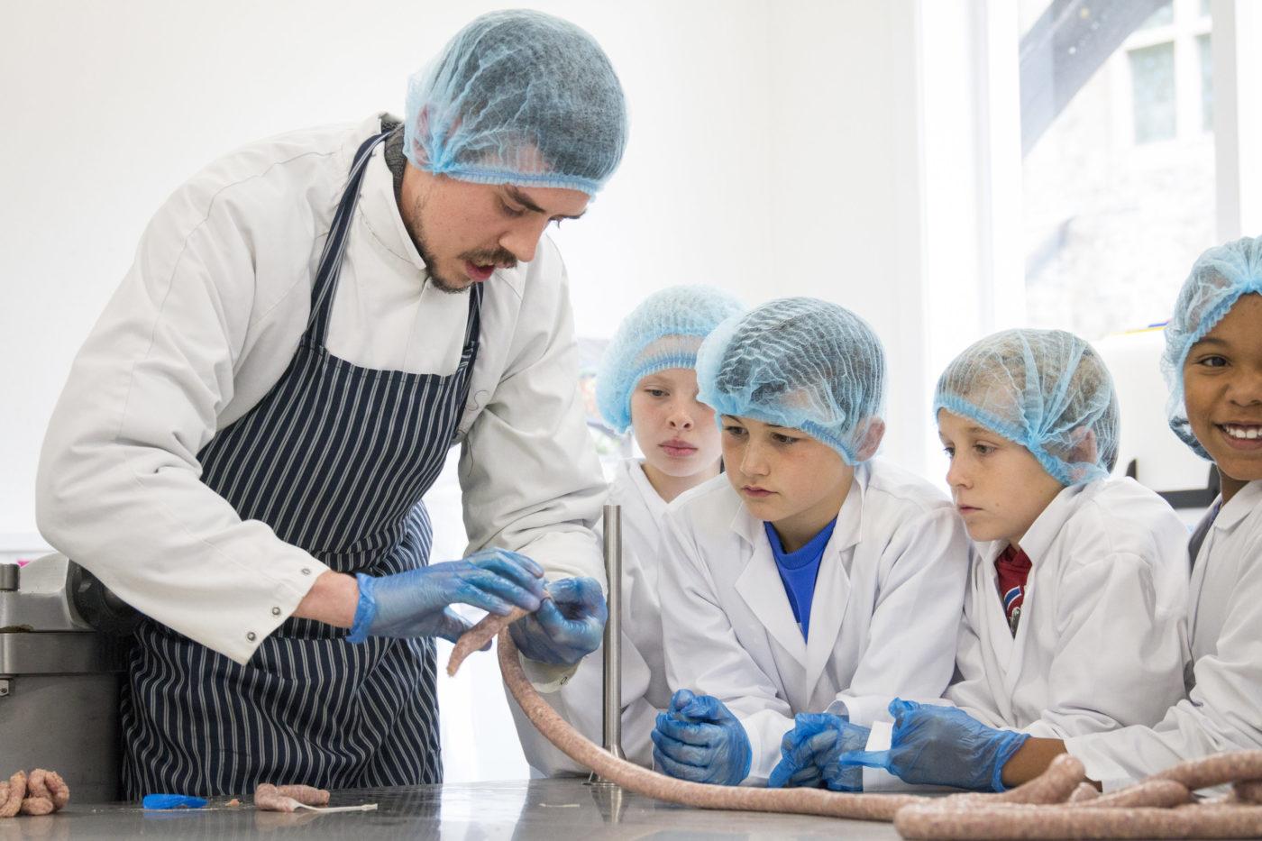 Teaching sausage making