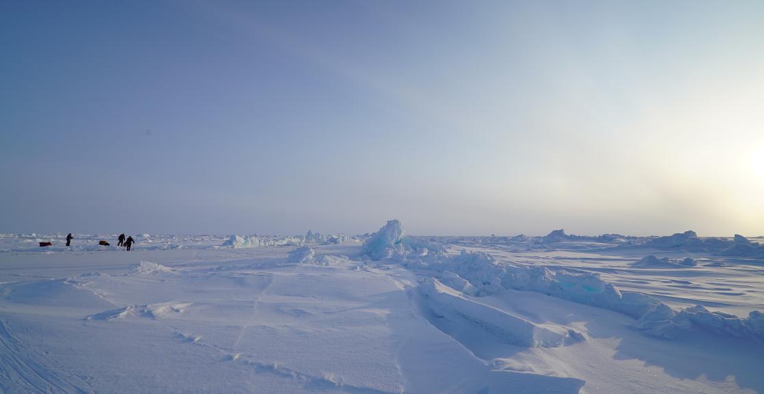 North Pole trek