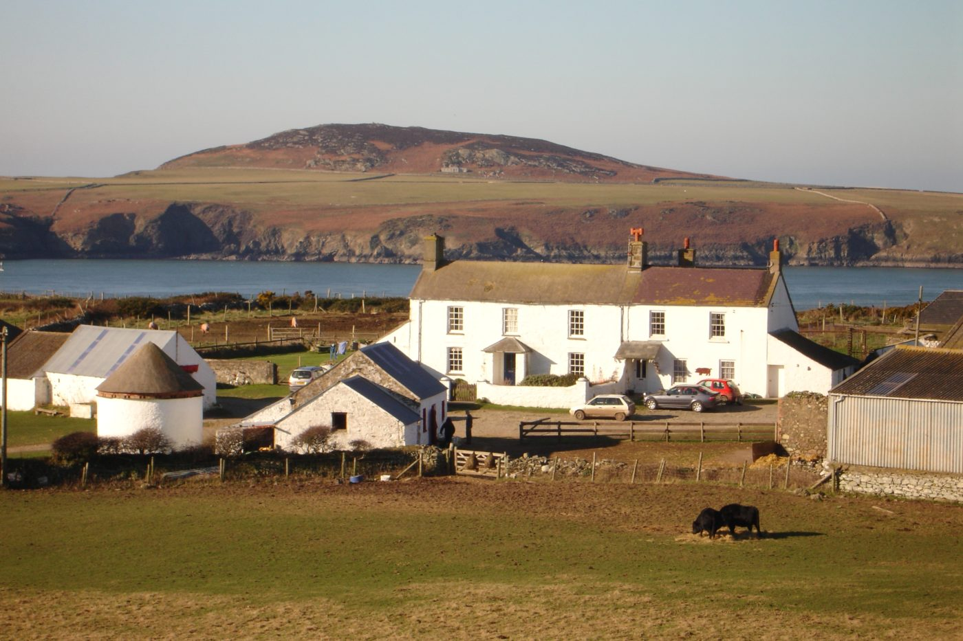 View across the headland at Treginnis