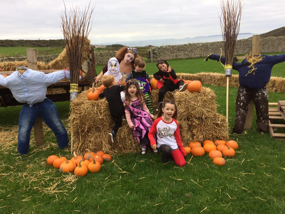 Pumpkin Patch Day at Lower Treginnis Farms for City Children