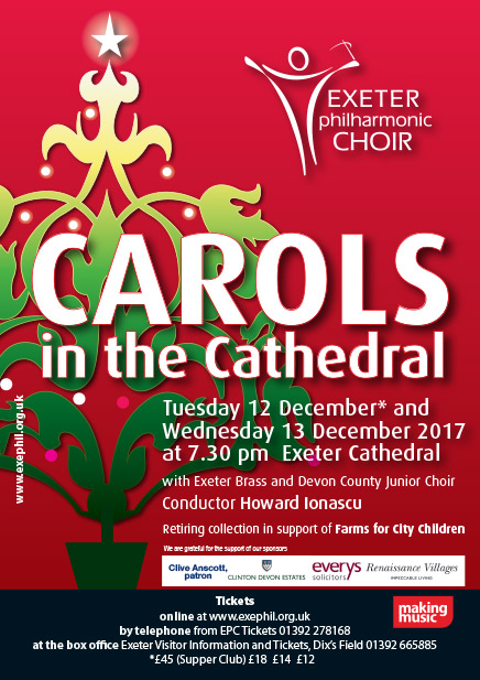 Carols in the Cathedral poster