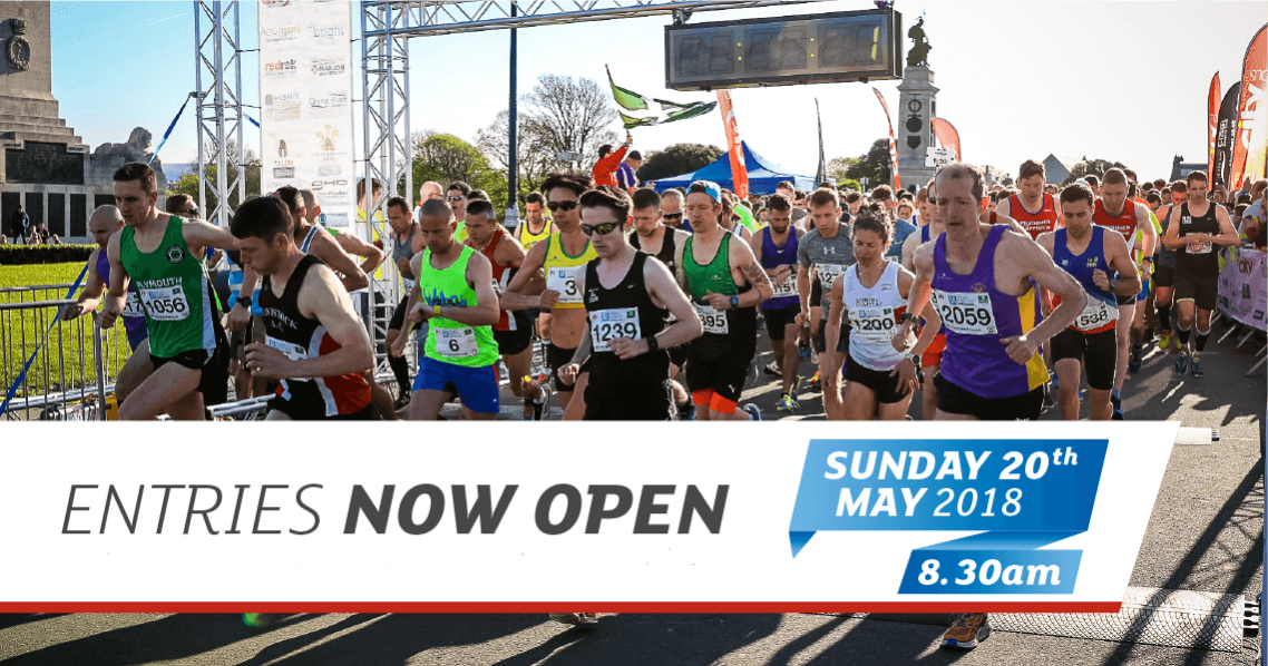 Plymouth Half Marathon - Entries now open!