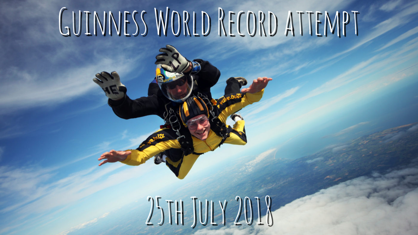 Guiness World Record Skydive Attempt 2018