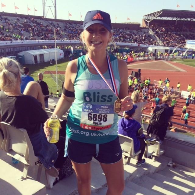 Rosie Thornton - Amsterdam Marathon