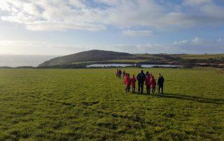 Scenic walk at Lower Treginnis - Tollgate School