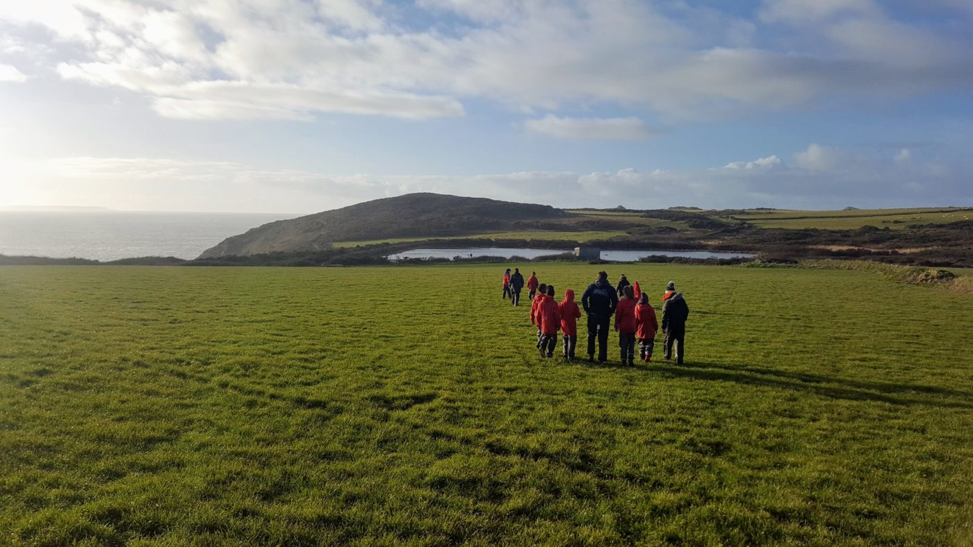Scenic walk at Lower Treginnis - Tollgate School