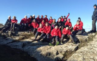 Tredegarville Primary School on top of the hill at Treginnis