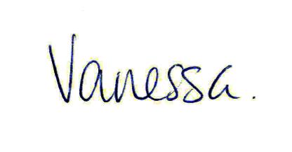 Vanessa Fox signature