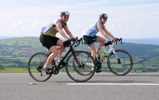 Lands End to John O Groats, cycle ride, challenge event, Samantha Gatehouse, Sarah Knight, cycle length of country to raise money