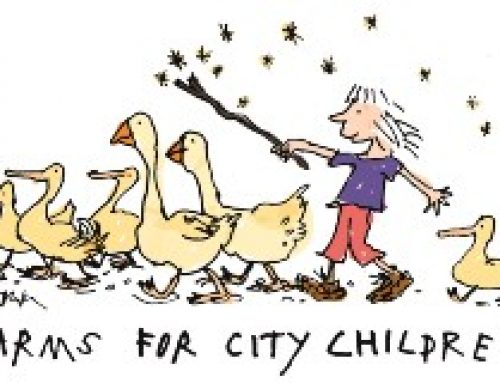 BMO Bank of Montreal raises £13,500 in a month for Farms for City Children!
